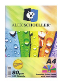 Alex Schoeller A4 Renkli Fotokobi Kağıdı Karışık 50li 80gr.