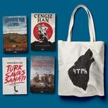 Kadim Türkler Seti-4 Kitap Takım-Bez Çanta Hediyeli