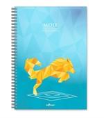 LeColor Defter A4 200 Sayfa Wolf Çizgili