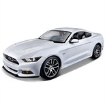 Maisto 1/18 2015 Ford Mustang GT 50TH Anniversary Edition Exclusive 38133