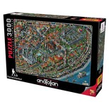 Anatolian Puzzle 3000 Parça Fractal İstanbul 4913