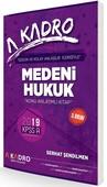 2019 KPSS A Medeni Hukuk