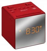 Sony Alarmlı Saatli Radyo Kırmızı ICFC1TR