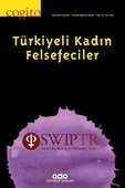 Cogito 92-Türkiyeli Kadın Felsefeciler