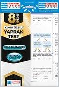 8.Sınıf Fen Bilimleri Konu Özetli Yaprak Test
