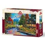 Art Puzzle 2000 İki Yaka Bir Orman 4575