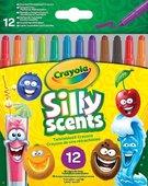 Crayola Silly Scents Çevrilebilen Pastel Boya Kalemi 12'Li