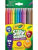 Crayola Silly Scents Çevrilebilen Kuru Boya Kalemi 12'Li