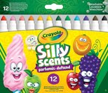 Crayola Silly Scents Kalın Keçeli Boya Kalemi 12'Li