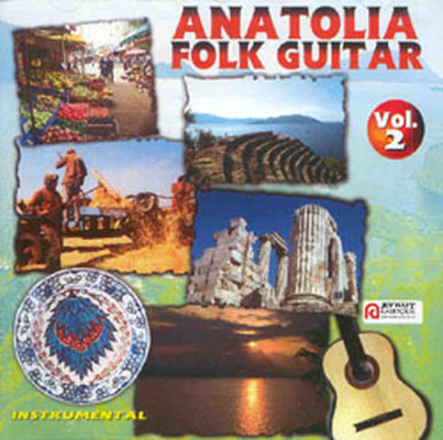 Anatolia Folk Guitar Vol.2 Inst. SERI