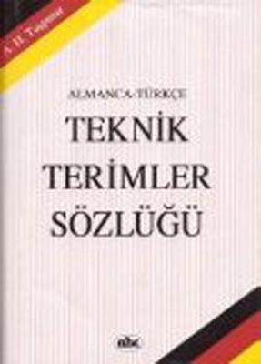 Almanca-Türkçe Teknik Sözlük Taşp.