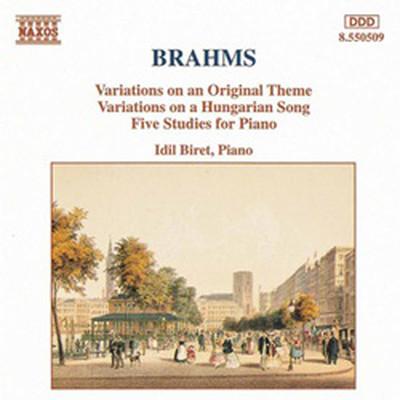 Brahms Variations Op.21, Five Studies