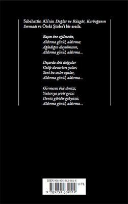 Bütün Şiirleri - Sabahattin Ali