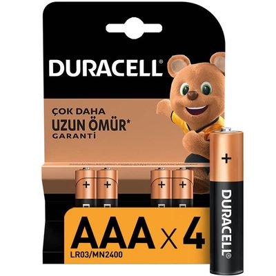 Duracell İnce Kalem Pil AAA 4'lü - 75015737
