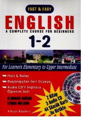 English 1 - 2 Hızlı Kolay / 3 Kasetli Eğitim Klavuzu