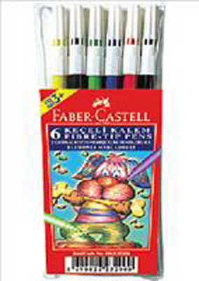 Faber-Castell Keçeli Kalem 6'li Poset 5062155106