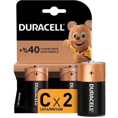 Duracell Ultra Orta Pil 2'li C-15037890