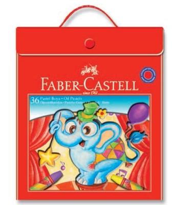 Faber-Castell Plastik Çantalı Tutuculu Pastel Boya, 36 Renk - 5281125137
