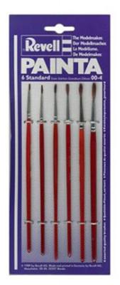 Revell Ships-Painta Standard, 6 Brushes Accessories Standard Blistered 29621