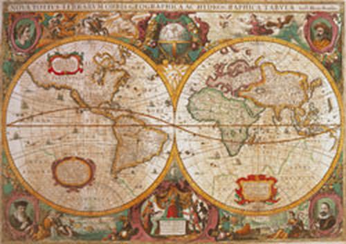 Clementoni 1000 Parça Puzzle Mappa Antica 31229.0