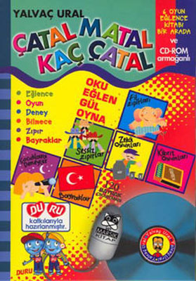 Çatal Matal Kaç Çatal Bilmece-Oyun CD li
