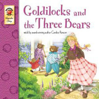 Goldilocks and The Three Bears-CD'li