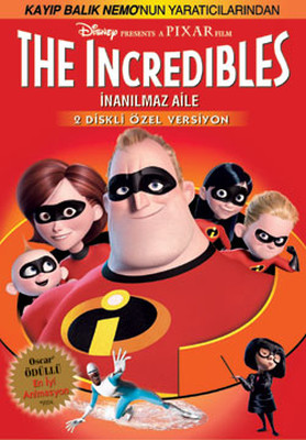 Incredibles - Inanilmaz Aile
