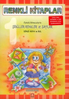 Renkli Kitaplar-Şekiller-Renkler ve Sayılar