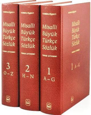 Kubbealtı Lugatı-Misalli Büyük Türkçe Sözlük - 3 Cilt Takım