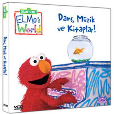Susam Sokağı Elmo'nun Dünyası - Dans, Müzik Ve Kitaplar