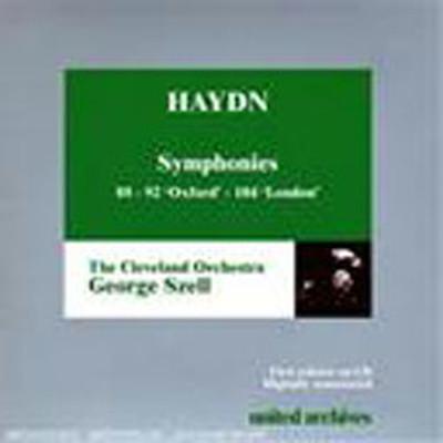 Haydn : Symphonies 88-92-104