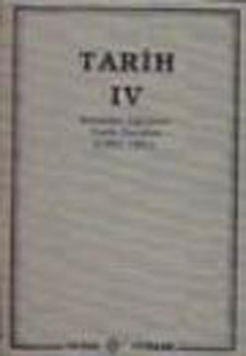 Tarih 4  (Kemalist Eğitimin Tarih Dersleri 1931-1941)
