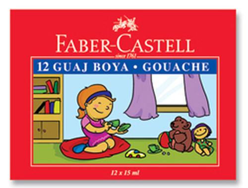 Faber-Castell Guaj Boya 12 Renk - 5170160401
