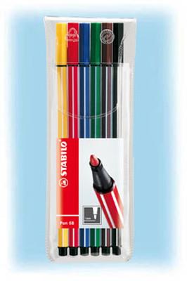 Stabilo Pen 68 6'Li Askili Pl Paket 6806/Pl-77