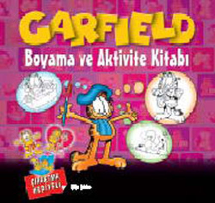 Garfield Boyama ve Aktivite Kitabı 1