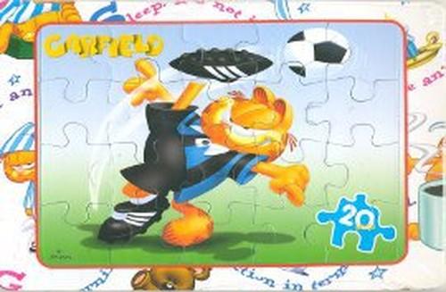 Garfield Puzzle Spor