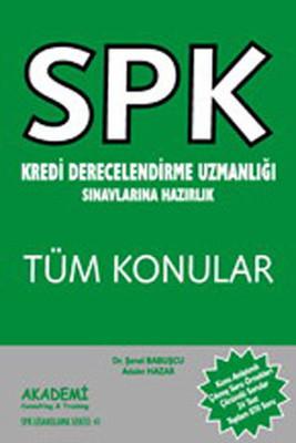 SPK Kredi Derecelendirme Uzmanlığı Sınavına Hazırlık Tüm Konular