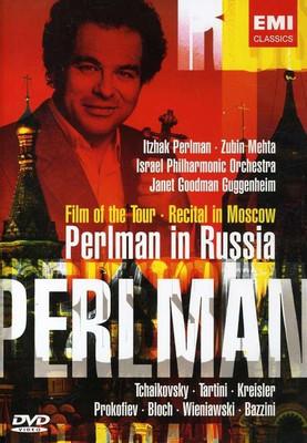 Itzhak Perlman in Russia