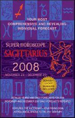 Super Horoscope Sagittarius: November 23 - December 20