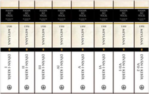 Divan-ı Kebir (8 Cilt) - Hasan Ali Yücel Klasikleri