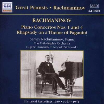 Rachmaninov:Piano Concer.N.1&4