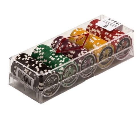 Mon jeu 100 Luk Poker Fis (5 Renk)