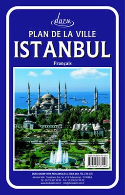 Harita istanbul 50*70  Fransızca