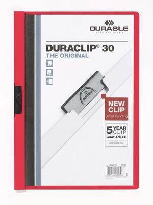 Durable Duraclip Original 30 Sf. Kapasiteli - Kirmizi 2200-K