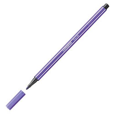 Stabilo Pen 68 Fineliner Kalem Mor