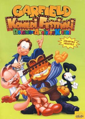 Garfield Komedi Festivali Boyama ve Aktivite Kitabı