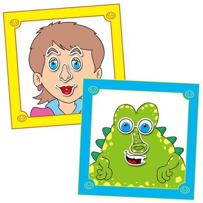 Galt Funny Faces Sticker Book