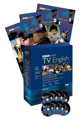 BBC Active TV English (4 DVD+4 CD+3 Kitap)