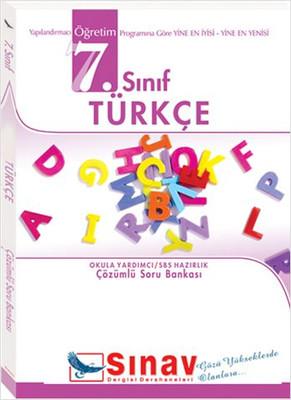 7. Sınıf SBS Türkçe Çözümlü Soru Bankası