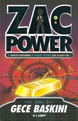 Zac Power 6 - Gece Baskını